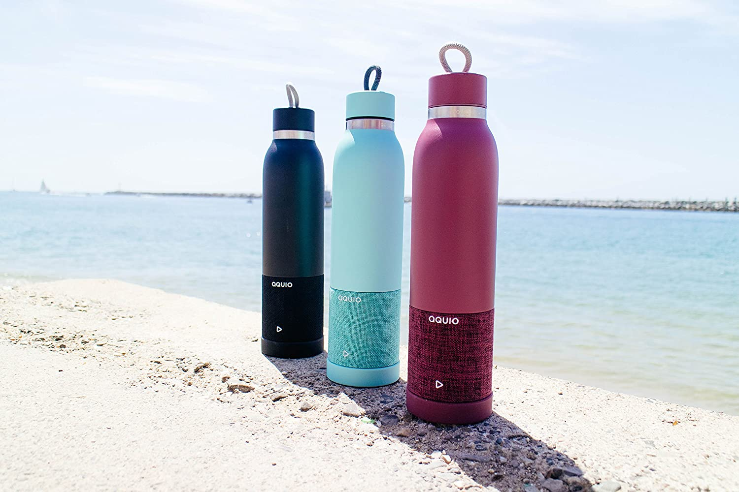 Aquio Double-Walled Bottle Wireless
