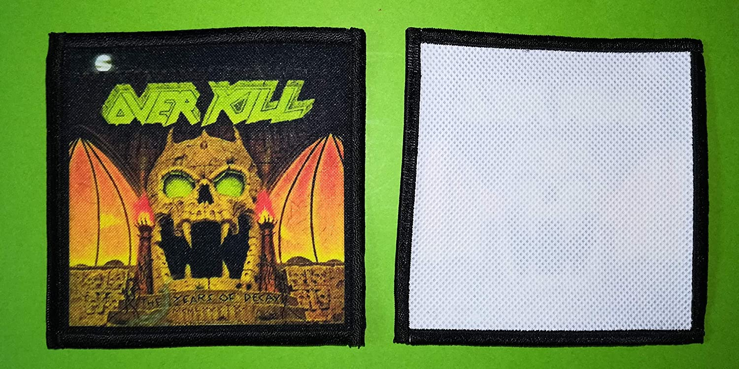 10 CM Overkill 2 BLUE HAWAI PL0138 ECUSSON Patches AUFNAHER Toppa A Coudre 10
