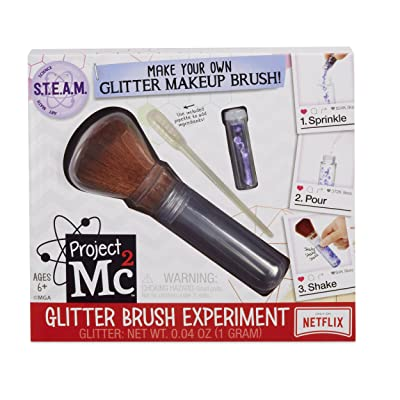 Project Mc2 S.T.E.A.M. Experiment Glitter Brush: Toys & Games