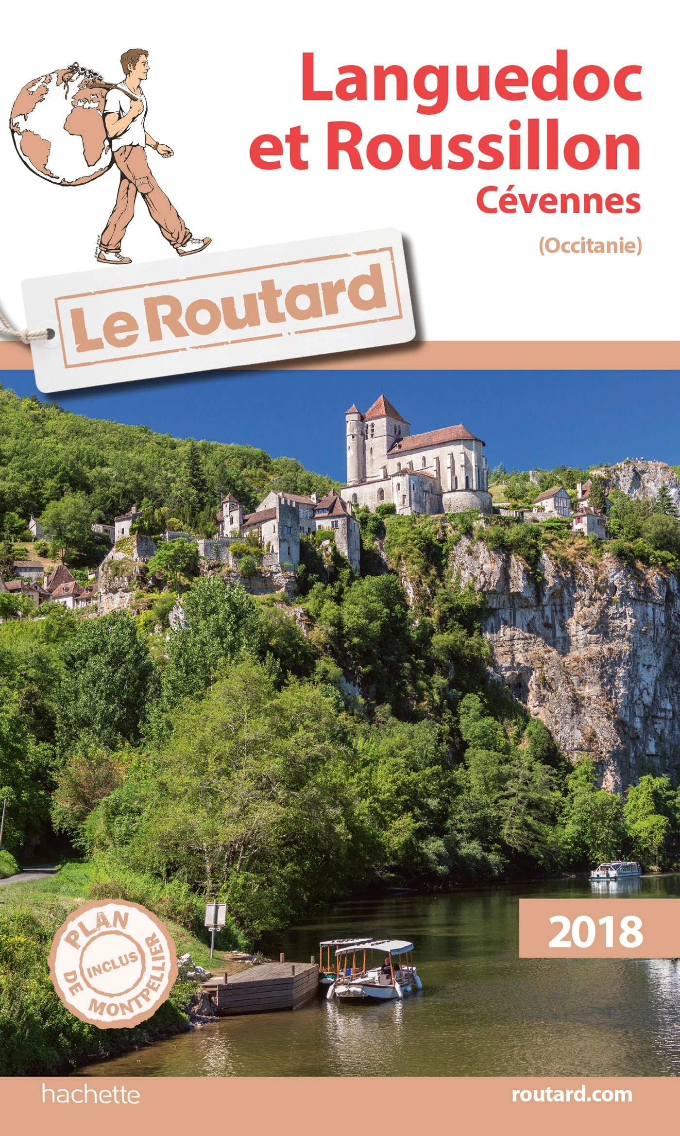 Amazon Fr Guide Du Routard Languedoc Roussillon 2018 Cevennes Occitanie Collectif Livres