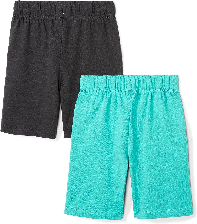 Marca Spotted Zebra 2-Pack Jersey Knit Shorts Ni/ños