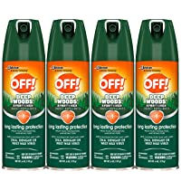 OFF! Sportsmen Deep Woods Insect and Mosquito Repellent II, Long Lasting Protection...
