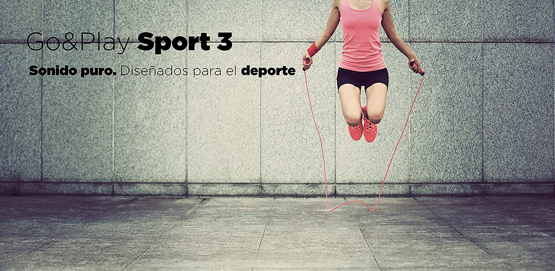 Ksix Go&Play Sport 3 - Auriculares inalámbricos deportivos, bluetooth, control música, micro: Amazon.es: Electrónica
