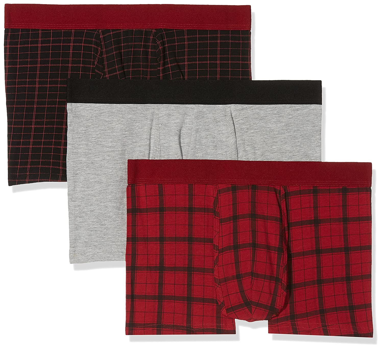 New Look Red Check, Pantaloncini Uomo 5855082