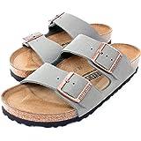 Birkenstock Arizona 2-Strap Women's Sandals in Stone Birko-Flor