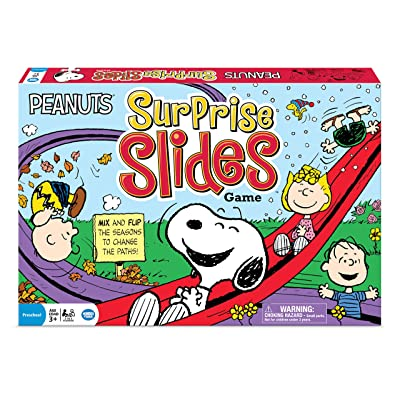 Wonder Forge Peanuts Surprise Slides Game: Toys & Games