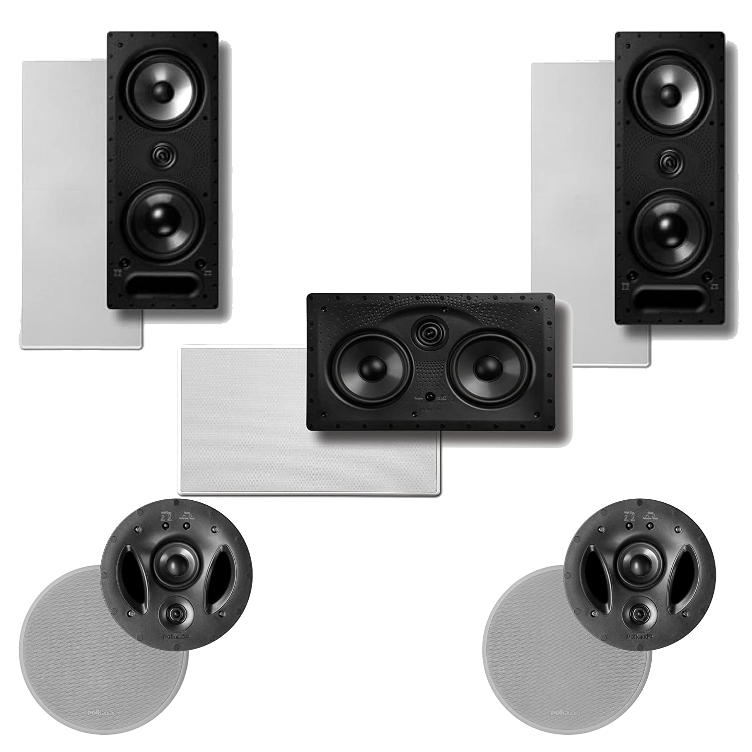 ceilings speakers vanishing audio ceiling es high in detail polk product each p speaker performance