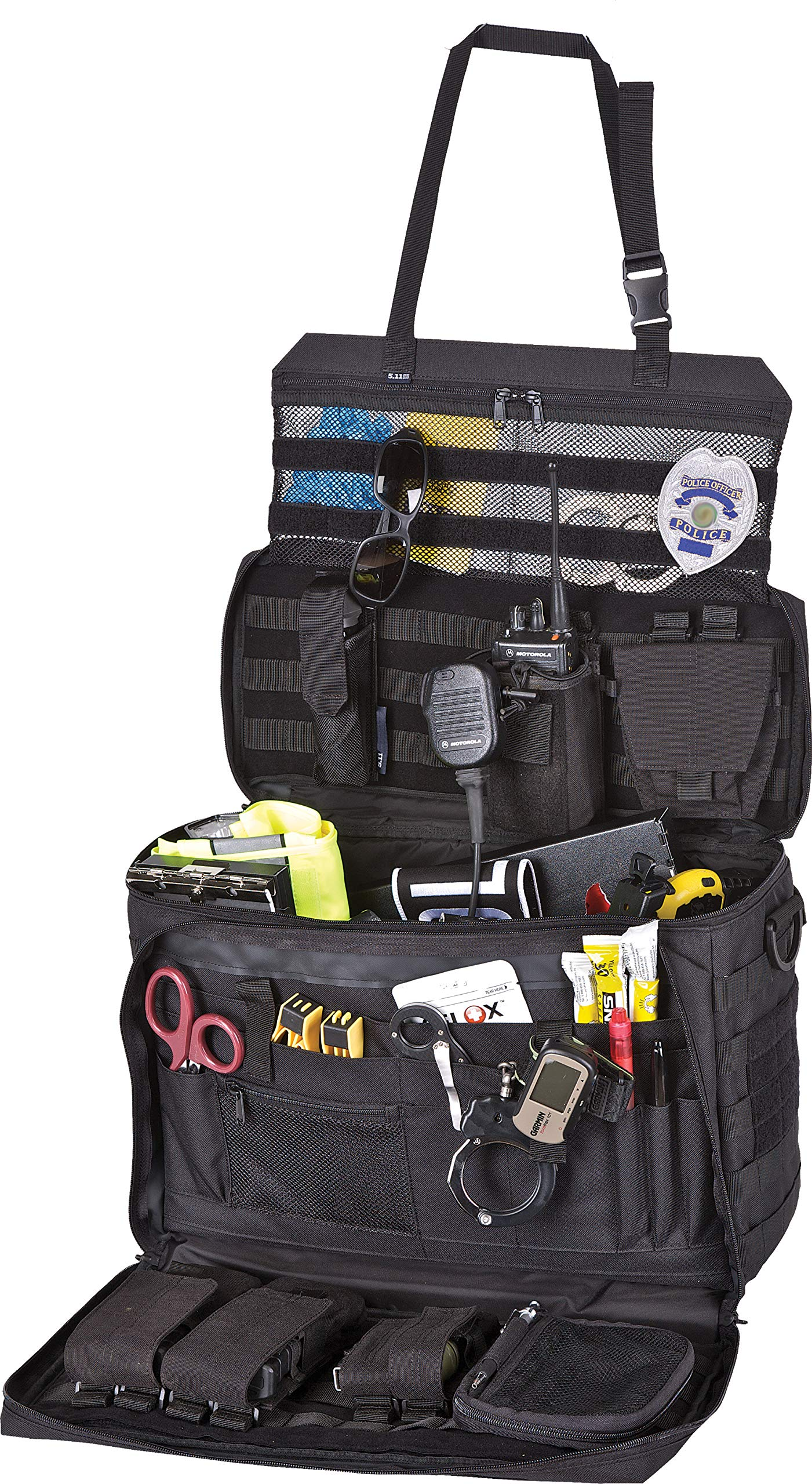 5.11 Wingman Patrol Bag for Law Enforcement Police Vehicle Passenger Seat, Style 56045 by 5.11