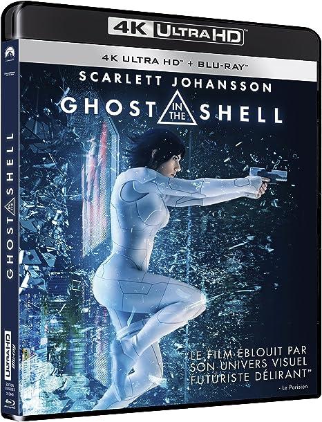 Ghost In The Shell 4k Ultra Hd Blu Ray Amazon Ca Dvd