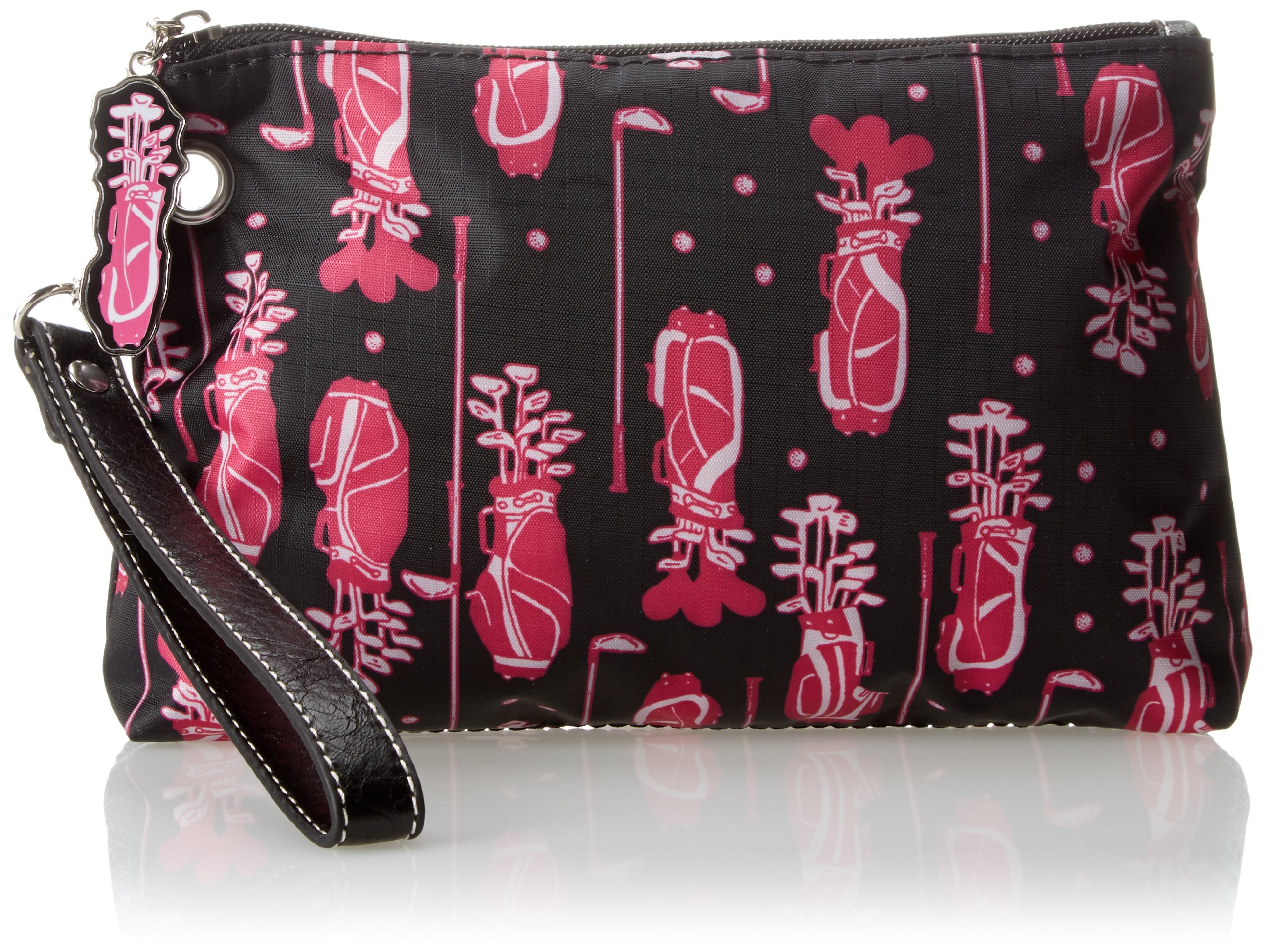 Sydney Love Fuchsia Golf Cosmetic Bag With Tee Cosmetic Case,Multi,One Size