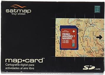 Satmap ES-ALP-25-PREM-SD-001 - Tarjeta con mapas del Pirineo ...