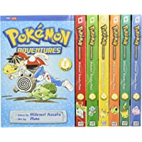 Pokémon Adventures Red & Blue Box Set (Set Includes Vols. 1-7): Set Includes Vol. 1-7