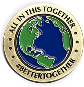 Anderson's We're in This Together Lapel Pin Set, Appreciation Gifts, Set of 12