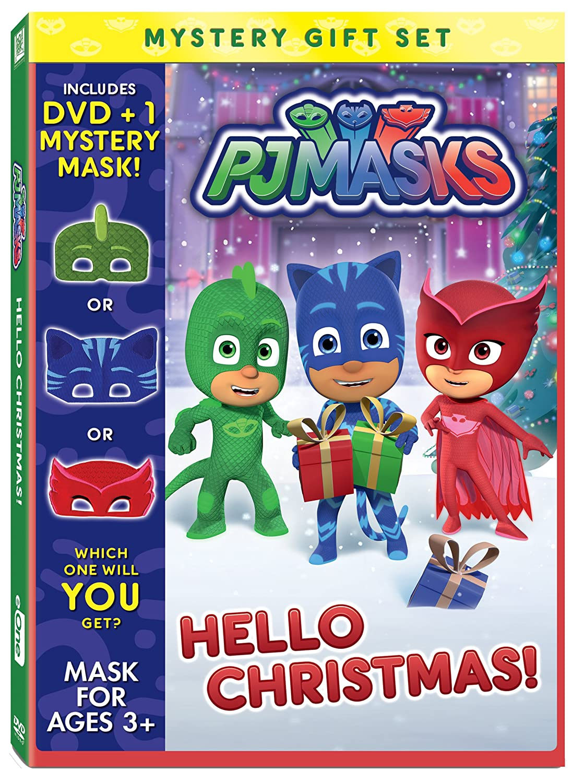 Pj Masks: Hello Christmas Mystery Mask Gift Set Edizione: Stati Uniti Italia DVD: Amazon.es: Cine y Series TV