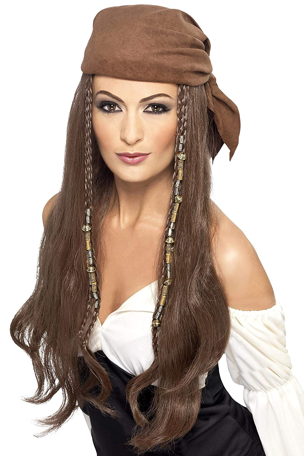 Smiffys Pirate Wig, Brown, One Size RH Smith & Sons LTD 21398