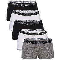 B2BODY Cotton Underwear Women - Boyshort Panties for Women Small to Plus Size 5...