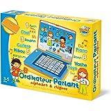Buki- 8961- Jeux électronique- Ordinateur parlant alphabet/chiffres