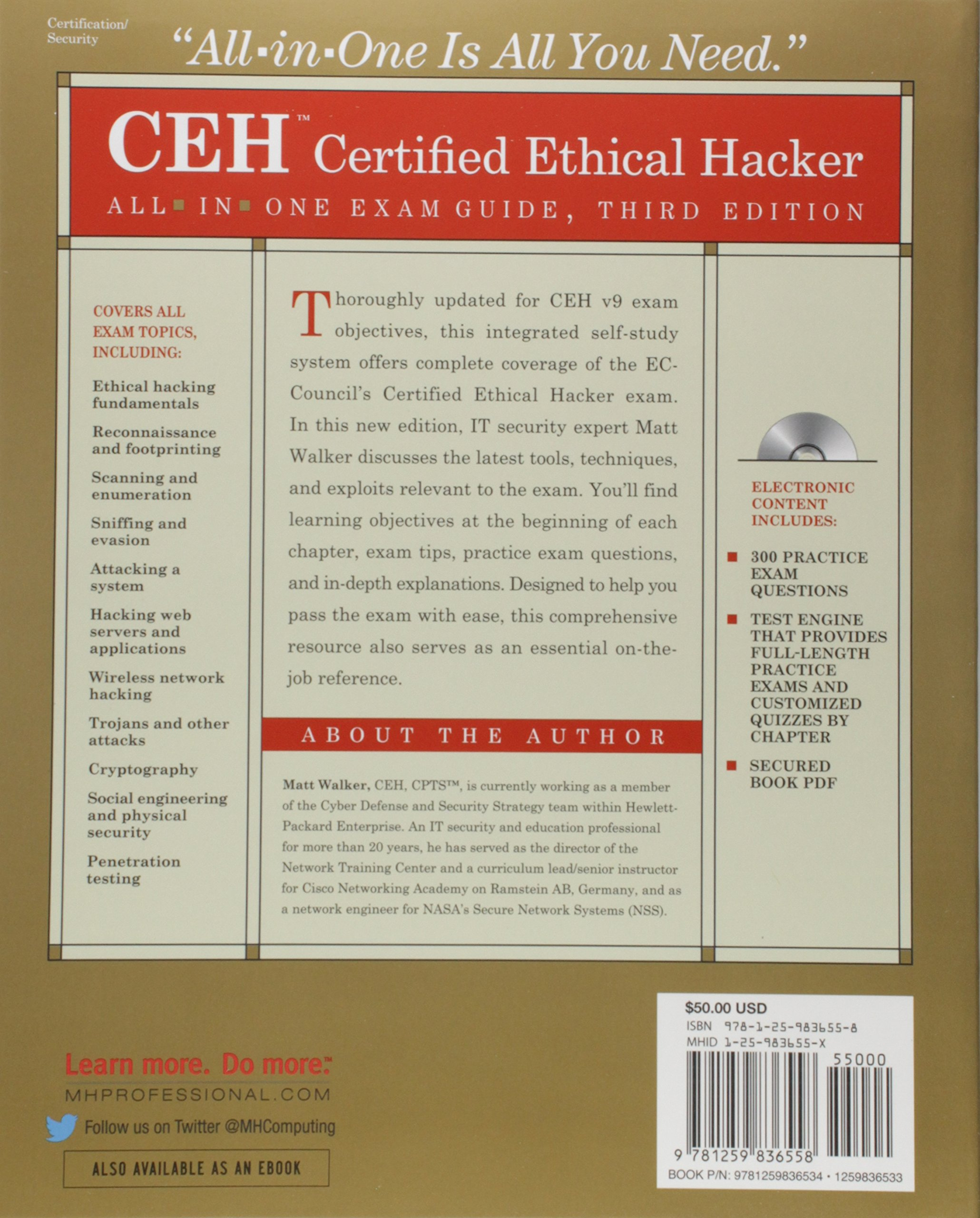 Ceh Certified Ethical Hacker Exam Guide Ceh Certified Ethical