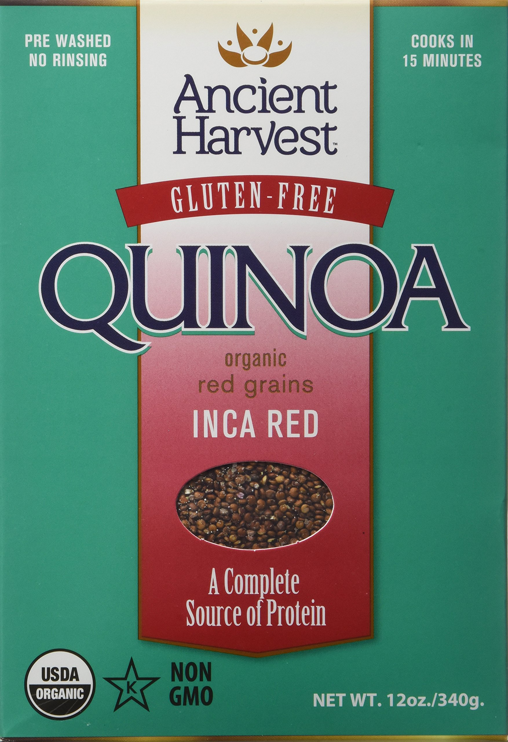 Ancient Harvest Quinoa Inca Red Wfgf Org (Pack of 2)