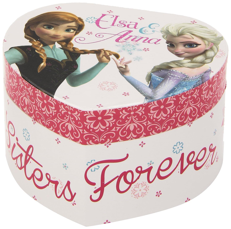 Joyero musical coraz/ón Frozen Kids Euroswan el Reino de Hielo