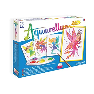 Sento Sphere Aquarellum: Magic Canvas Junior Fairies: Toys & Games