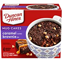 Deals on 4-Ct Duncan Hines Mug Cakes Caramel Flavored Brownie Mix 2.6oz
