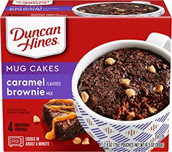 4-Pack Duncan Hines Perfect Size for 1 Brownie Mix