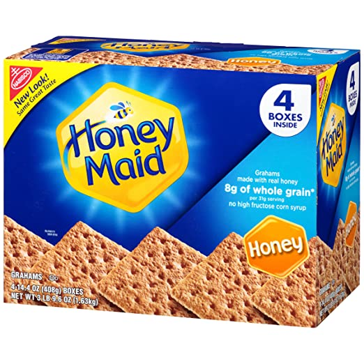 Amazon honey maid graham crackers 144 ounce boxes 4 pack solutioingenieria Gallery