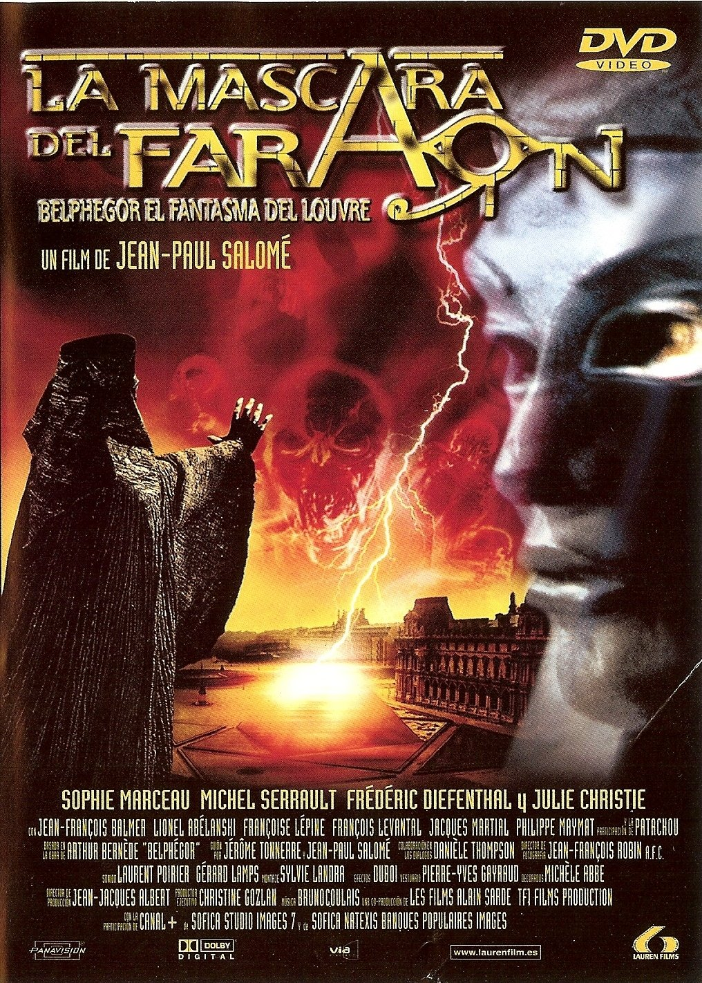 Amazon.com: La Mascara Del Faraon Belphegor (Import Movie) (European Format - Zone 2) (2003) Varios: Movies & TV