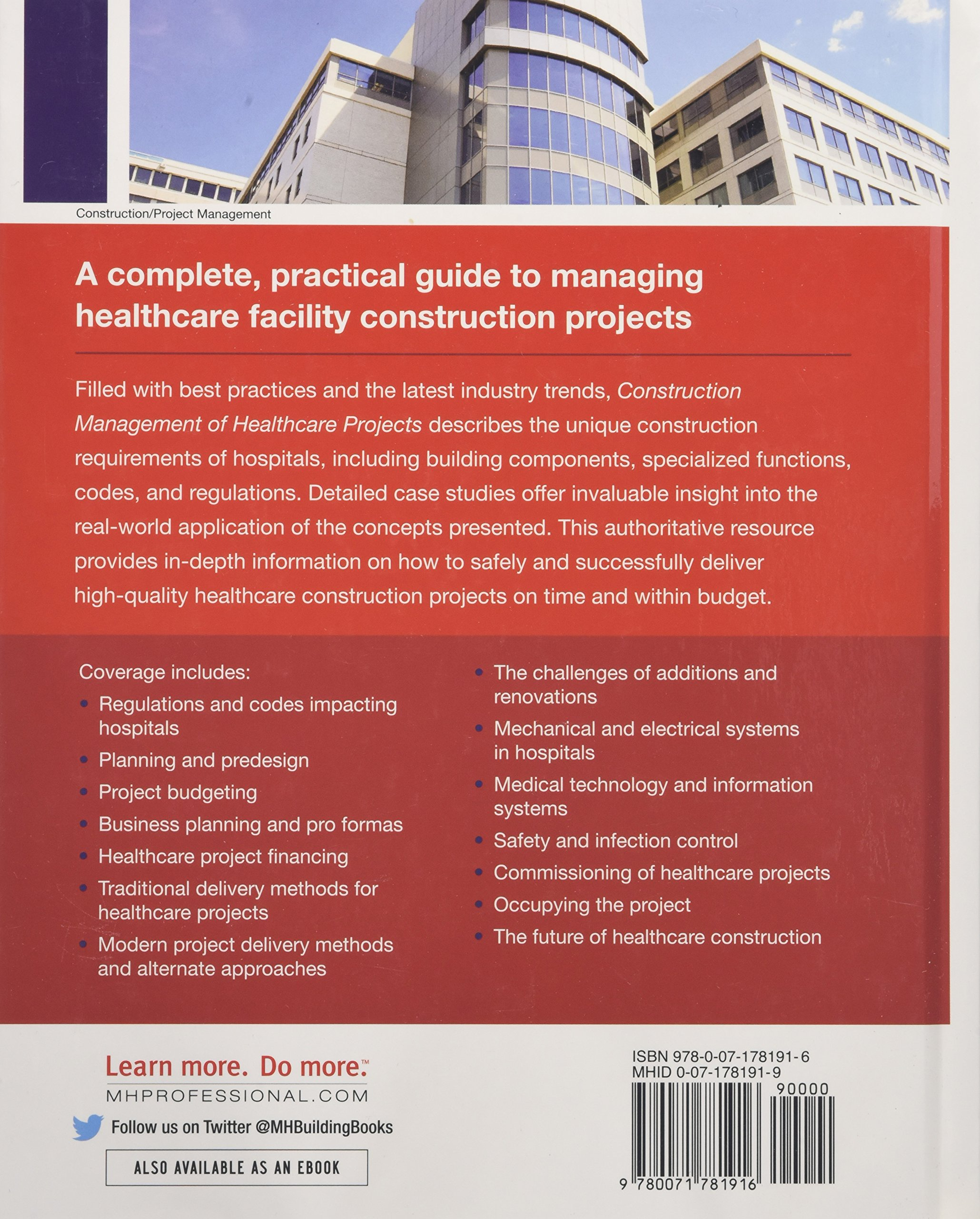 Construction Management of Healthcare Projects