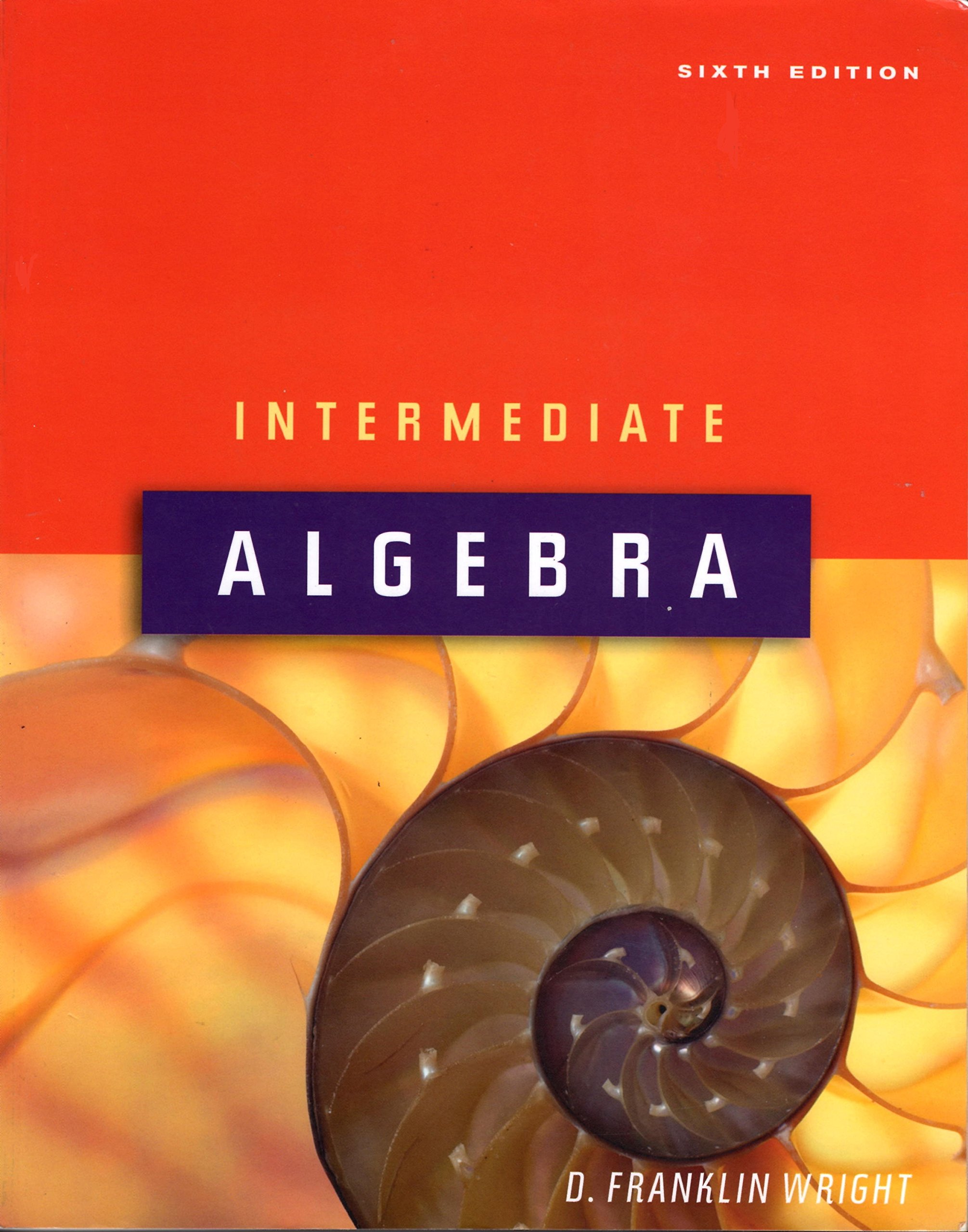 Intermediate algebra 6th edition ebook
