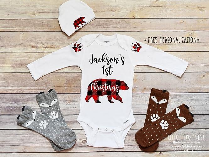 first christmas outfit boy christmas shirts christmas onesie christmas outfit baby girl