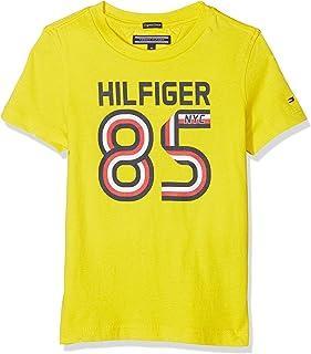 Tommy Hilfiger Jungen T-Shirt AME Global Stripe Series Tee S/S KB0KB03910