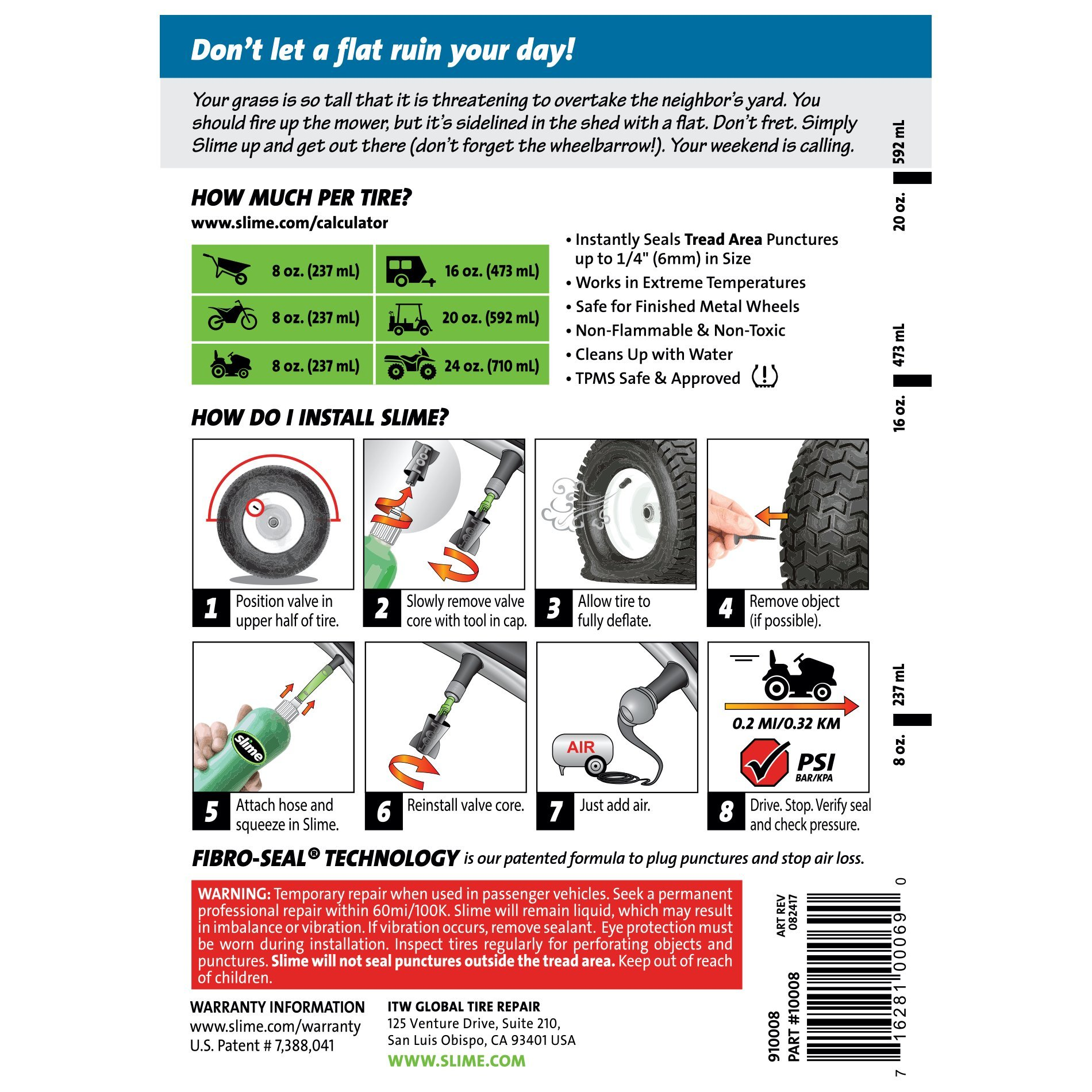 on golf cart tire patch kit hd image of slime prevent repair sealant 24 oz walmart.html
