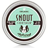 Natural Dog Company Snout Soother – Dog Nose Remedy – All-Natural Remedy for Chapped Dog Noses – Vegan Dog Balm – Veterinarian Recommended
