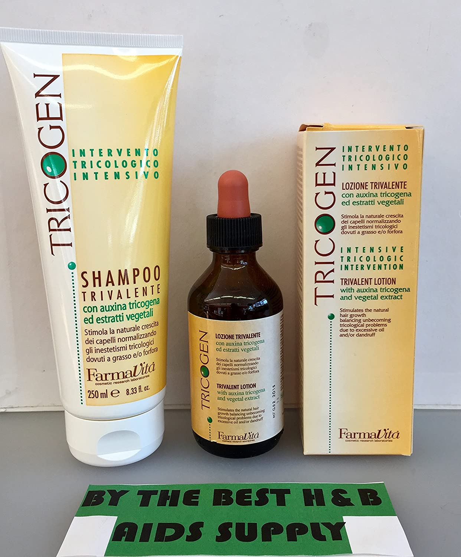 Farmavita Tricogen Kit (Shampoo 250ml Plus Lotion 100ml)