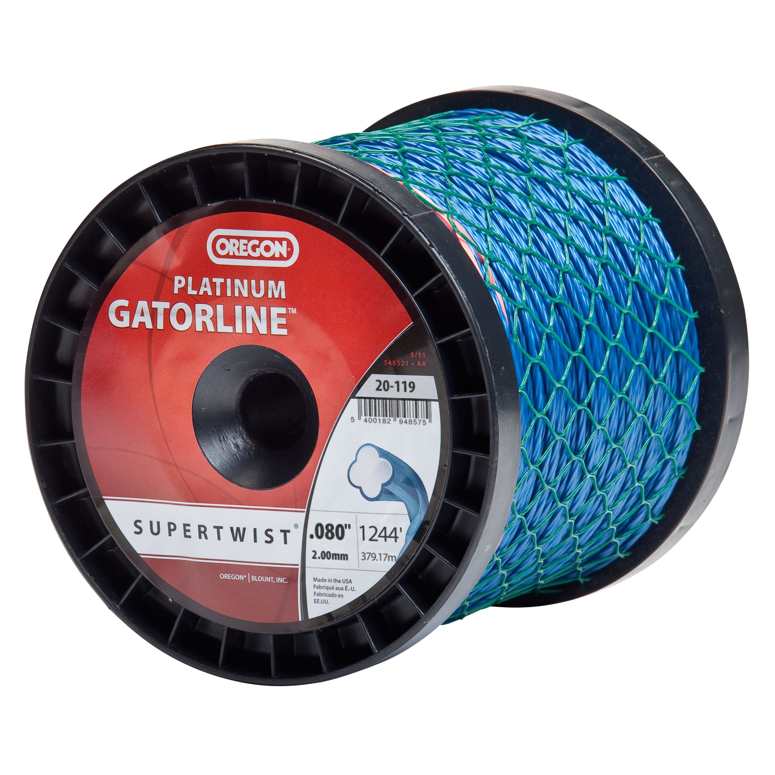 Oregon 20-119 Replacement 0.080 Platinum Gatorline, 1244-Feet