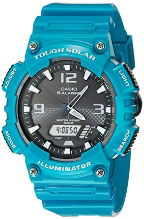 a490cbf332e18 Image Unavailable. Image not available for. Color  Casio Men s AQ-S810WC-3AVCF  Tough Solar Analog-Digital Watch ...