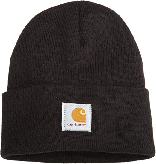 Carhartt Acrylic Beanie Knit Men/'s Stocking Cap Warm Winter Hat Authentic