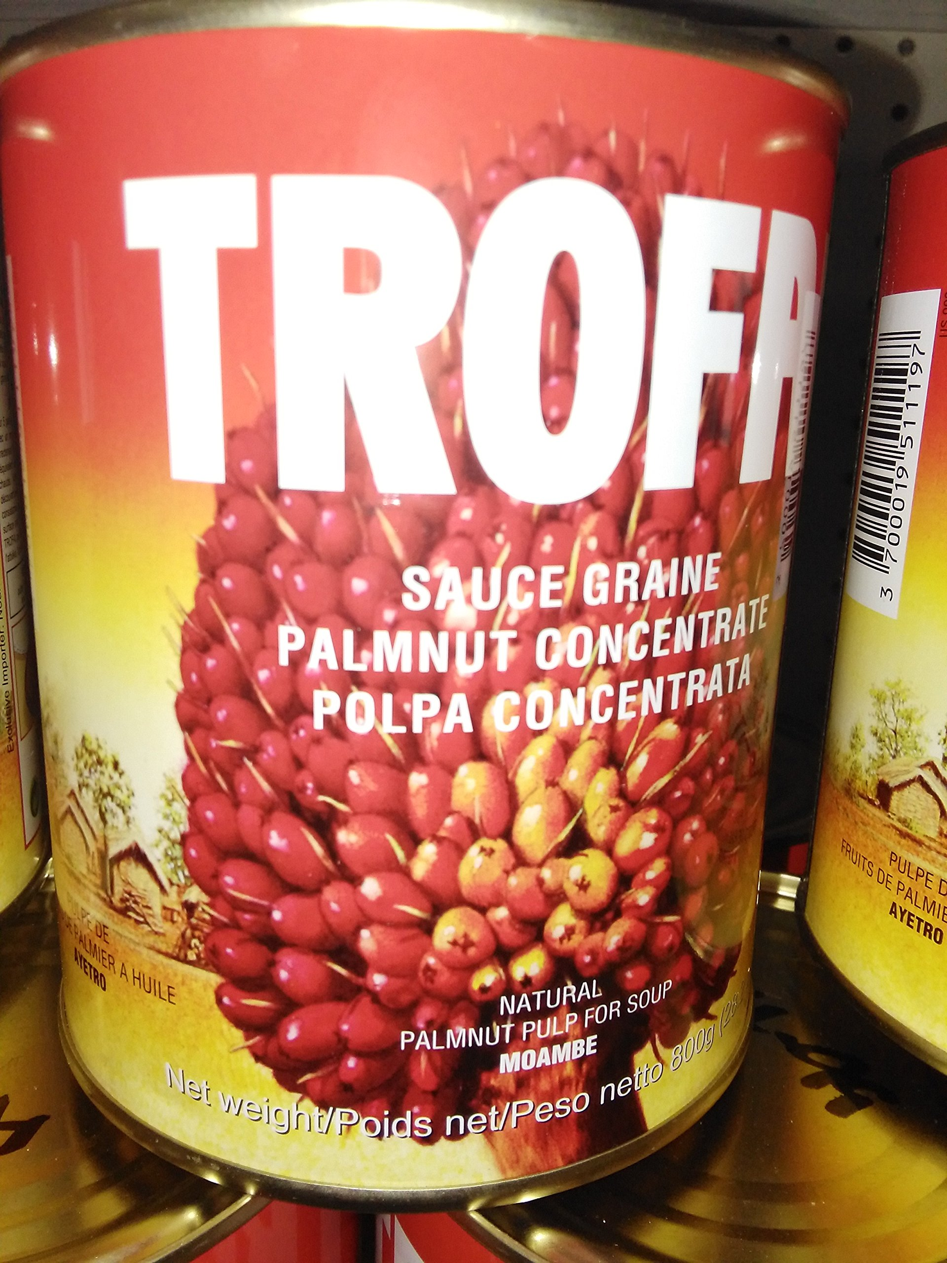 Trofai Palm nut Sauce Concentrate - Pack of 4 by Trofai (Image #1)