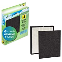 Germ Guardian FLT5900 True HEPA GENUINE Air Purifier Replacement Filter J with Activated Charcoal Layer for GermGuardian Purifier AC5900WCA
