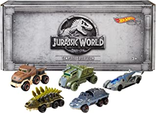 Hot Wheels Jurassic World Character Cars, 5 Pack [Amazon Exclusive]