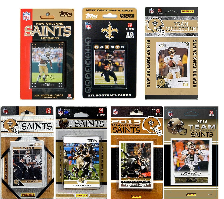 NFL新しいOrleans Licensed Saints Saints Licensed Tradingカードチームセット B00LEES3M8 B00LEES3M8, 【日本製】:926db7d8 --- harrow-unison.org.uk