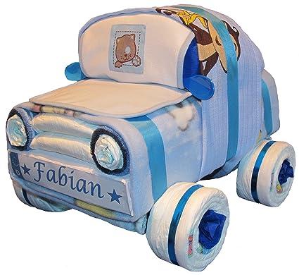Auto pañales pañales para tartas Azul: Amazon.es: Bebé