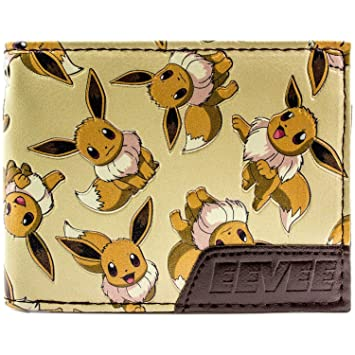 Cartera de Pokemon Eevee 133 Carácter múltiple marrón: Amazon.es: Equipaje