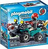 PLAYMOBIL 6879 Crooks Quad with winch