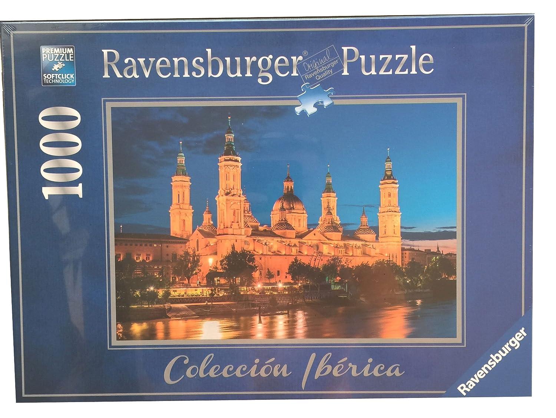 Puzzle Ravensburger 88585. Basilica del Pilar. Zaragoza. 1000 piezas: Amazon.es: Juguetes y juegos