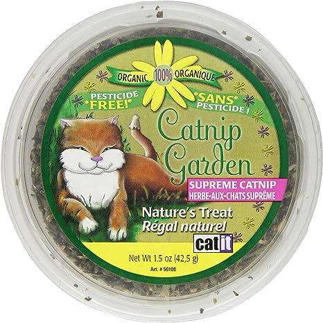 Amazon Com Catit Catnip Garden 1 5 Ounces Catnip Treats Pet