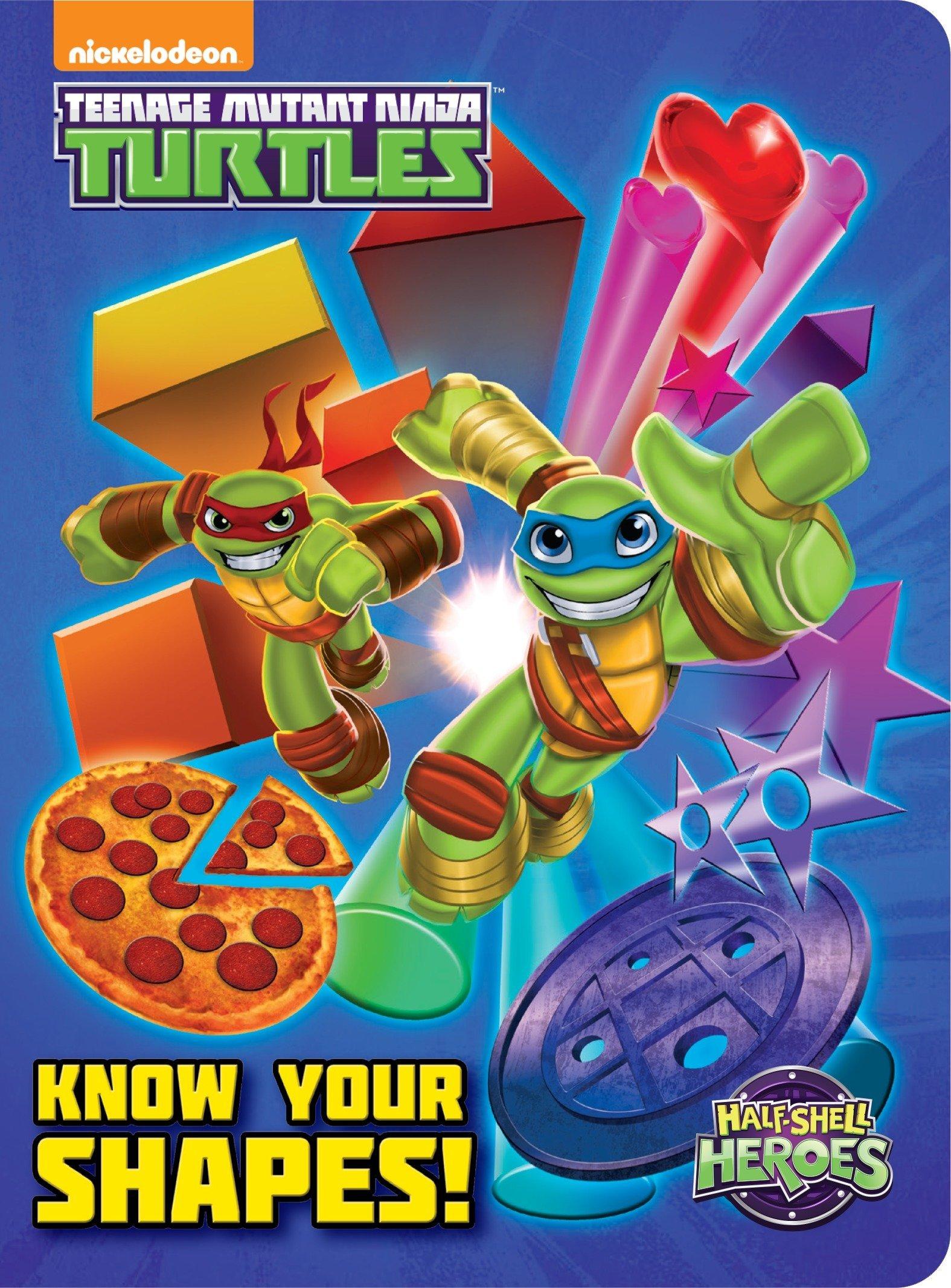 Amazon.com: Know Your Shapes! (Teenage Mutant Ninja Turtles ...