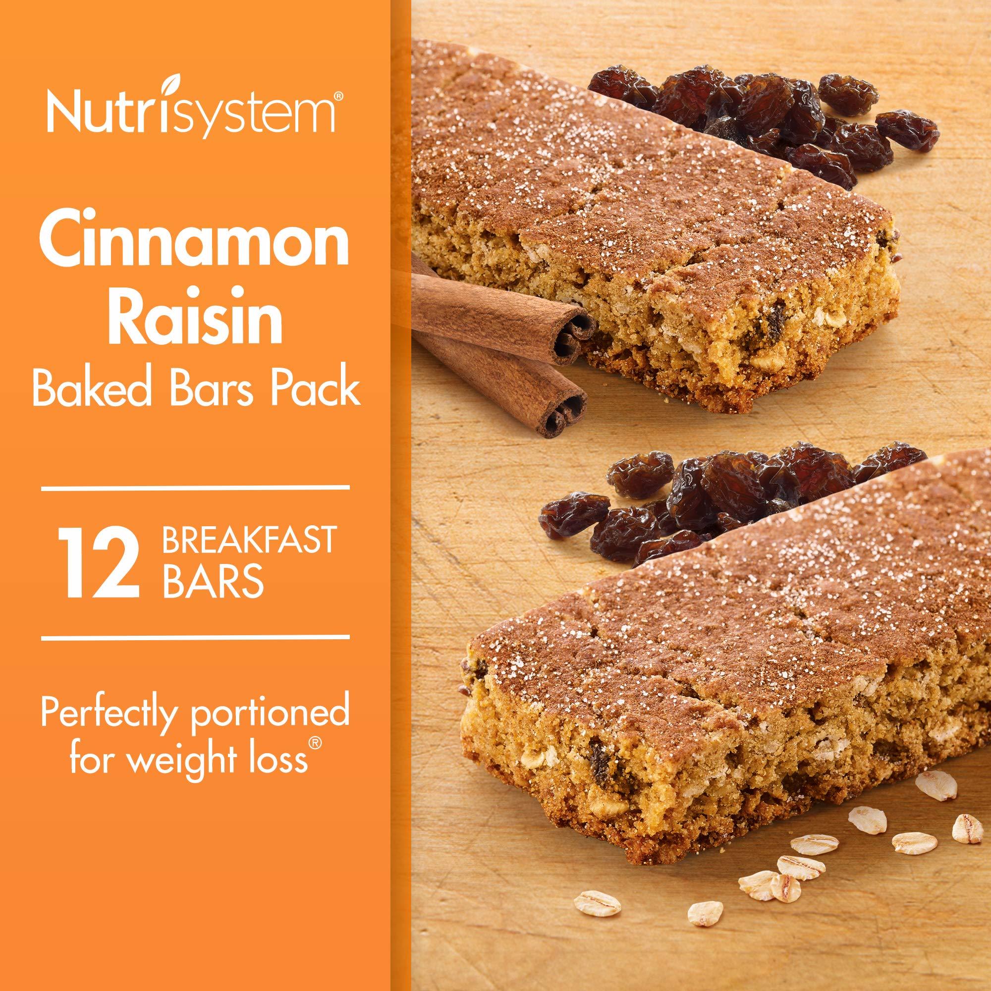 Nutrisystem® Cinnamon Raisin Baked Bars Pack, 12 Count Bars by Nutrisystem (Image #1)